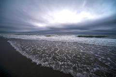 冬の海 のような 3