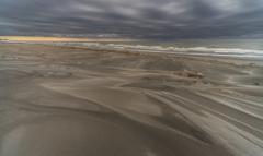 雨上がりの海岸 4