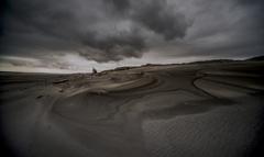 砂浜のデザイン