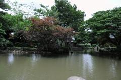 有栖川宮記念公園にて