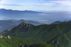 金峰山の北西眺望