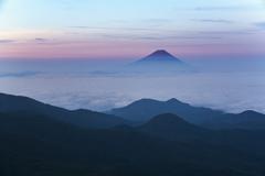 ほんのり赤富士