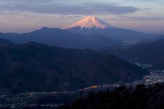 秀麗富嶽 7番の夜明け