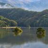初秋の秋元湖