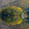 朝の曽原湖