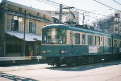 seaside train #02
