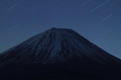 富士に舞う