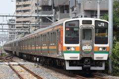 高崎線 211系