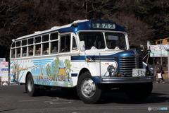 レトロバス 水戸の梅まつり漫遊バス