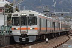 東海道線 313系+211系