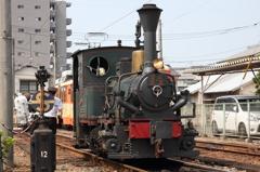伊予鉄道 坊っちゃん列車の機関車