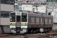 東海道線 211系