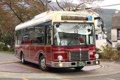 レトロバス(観光施設めぐりバス)