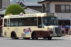 レトロバス 河口湖・西湖周遊バス