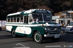 レトロバス 水戸の梅まつり漫遊バス 助さん号
