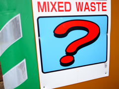 MIXED WASTE?