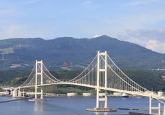 パラグラィダーと橋
