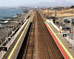 海に近い駅-北舟岡駅-1