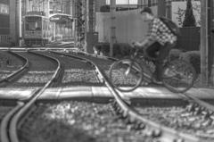 路面電車のある風景 #02