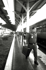 Man of the Thailand state railway