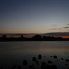 筑後川の夕暮れ2