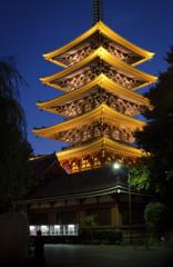 五重塔-浅草寺