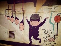 ビル壁アート