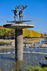 昭和記念公園カナールの噴水