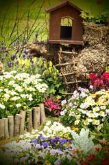 秘密基地に春が来た