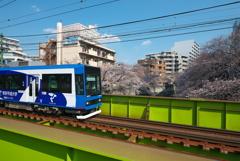都電と神田川