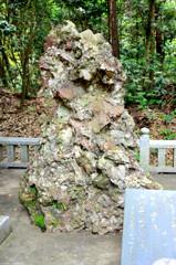 鹿島神宮のさざれ石