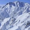 厳冬の五竜岳