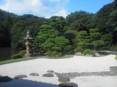 康國寺庭園。