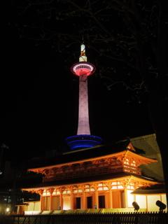 towerのある風景〜平安京幻視
