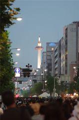 towerのある風景@祇園祭
