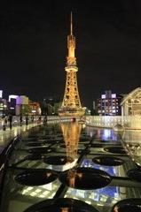 名古屋のテレビ塔(夜)