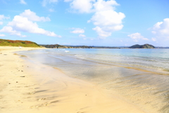 The seaside of Tanegashima.