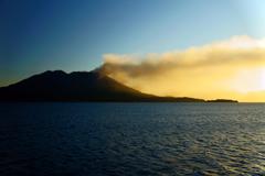 Morning of Sakurajima