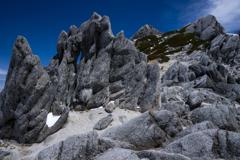 花崗岩の山