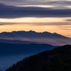 八ヶ岳シルエット