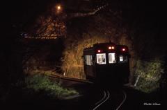 夜...本宿駅