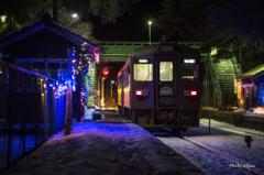 沢入の初雪