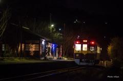 夜...上神梅駅