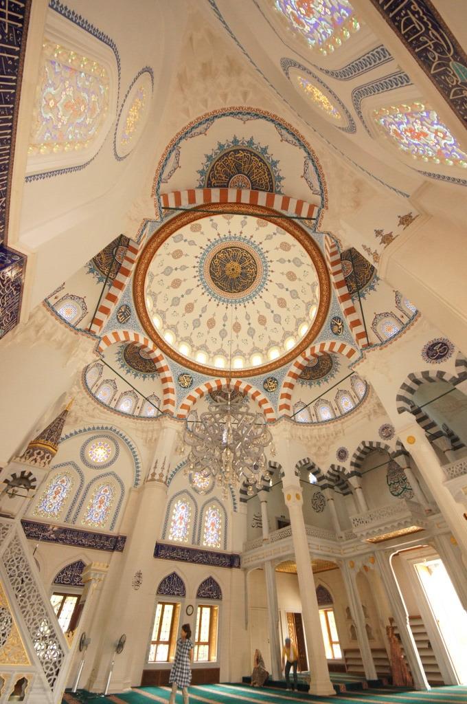 トルコ文化センターのモスク