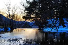 奥日光湯ノ湖にて