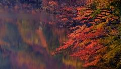深紅の十二湖
