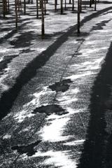 Winter rail way