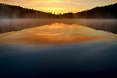Nature invites to fantasy before sunrise