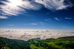 巻雲と芳ヶ平