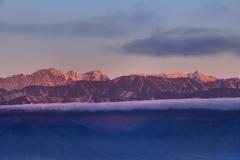雲上の名峰